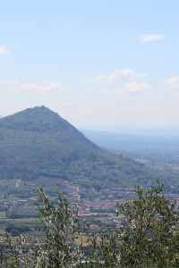 The hill above Monsummano