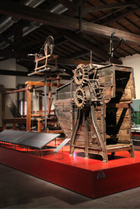 Machines in the Textile Museum of Prato