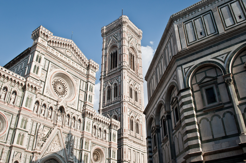 The complex of the Duomo