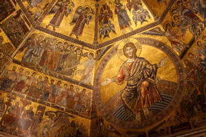 The mosaics of the Baptistery