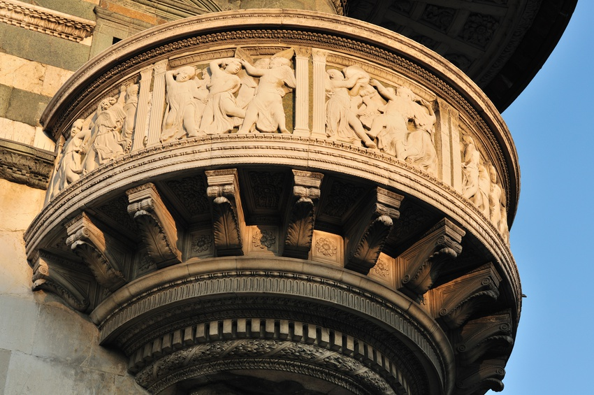 Donatello's pulpit of the Duomo