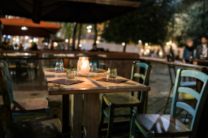 Restaurants in S. Spirito square