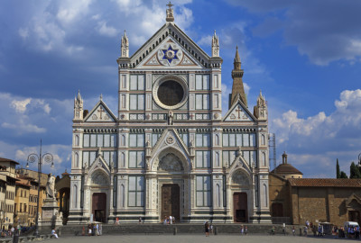 The Basilica of Santa Croce in Florence