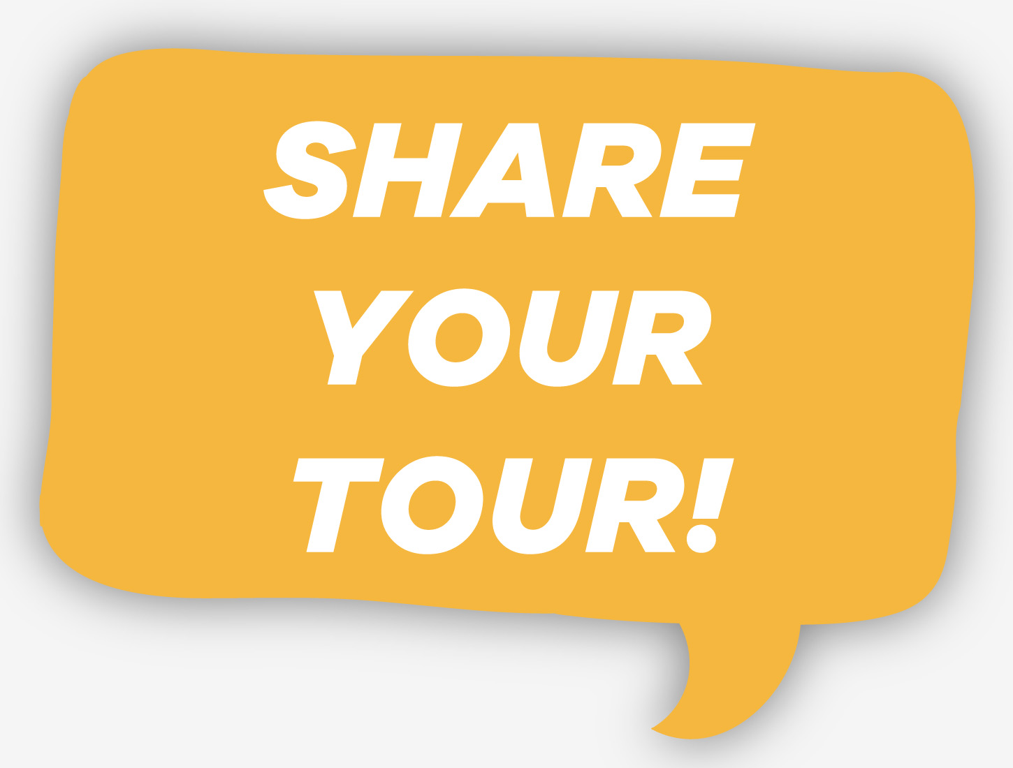 Share your tour